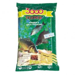 Прикормка Sensas 3000 Feeder Bremes 1 кг (Лещ)